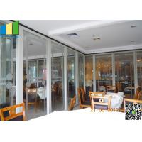 Sliding Aluminum Glass Partitions Wall Manufactures