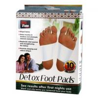 China Detoxification clear radiation cure fatigue body  Detox Foot Patch Herb medicine effective on sale
