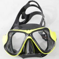 Quality One Window Design Diving Snorkel Mask  , Waterproof Scuba Diving Goggles for sale