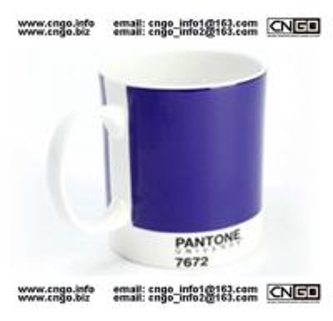 GIFTS PANTONE colors mug to your LOVER NO.7672 MUG CHINA Manufactures