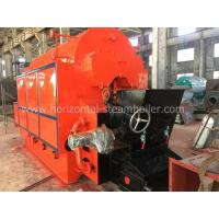 Double Drum Coal Fired Steam Boiler High Capacity 1 Ton 2 Ton Per Hour Manufactures