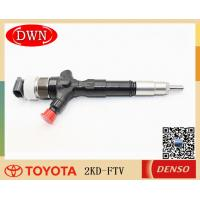 China Toyota Hilux Vigo Fuel Injector 23670-30050 With DENSO 095000-5881 9709500-588 on sale