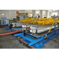 Quality PVC Steel Wire Reinforced Pipe Extrusion Line With 1 Year Warranty for sale