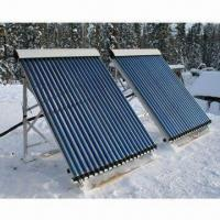 China Heat-pipe Vacuum Tubes Split Solar Water Heater with Color Coated Steel Sheet on sale