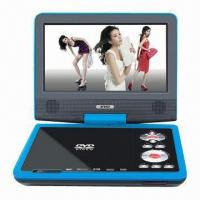 China Portable DVD Player with Built-in Stereo Speaker and Analog TV Function on sale