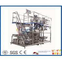 Quality 3000 - 20000LPH Full Automatic Beverage Production Line With CIP System / PLC Control for sale