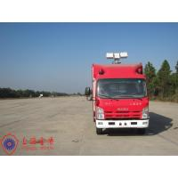 Three Seats Fire Fighting Vehicles 15KW Air Compressor Gas Engine Fire Vehicle Manufactures