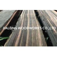 China Macassar Ebony Quarter Cut Natural Black Sliced Cut For Bureau And Desk on sale