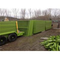 Quality 8' Height x 10' Width Canada standard Temporary Construction Fencing Panels for sale