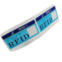 Custom RFID 860~960MHz 475*54mm Luggage Label Sticker Baggage For Tracking Management Manufactures