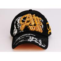 Quality Customized Adjustable Cotton Printed Baseball Caps Visor For Outdoor for sale