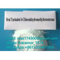 Raw Steroid Testosterone Powder Source 4- Chlordehydromethyl  Testosterone Turinabol Material CAS 2446-23-3 Manufactures