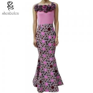 Fashion African Design Dashiki Wax Print Patchwork Long Maxi Dress Wholesale Manufactures