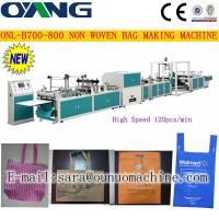 Quality ONL-B 700-800 Popular automatic non woven fabric bag making machine price for sale