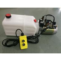 High Pressure Double Acting Hydraulic Power Pack For Tipper Trailer Manufactures