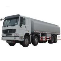 China Stainless Steel 8X4 Petroleum Oil Storage Tank Fuel Delivery Truck 27 CBM on sale