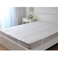 Fabric Quilting Mattress Cover Protectors With Four Corner