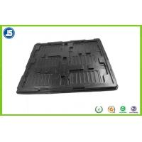 Thermoformed Blister Plastic ESD Trays Compartment For Electronic Manufactures