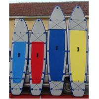 Lightweight Inflatable Stand Up Paddle Board , Inflatable Surf Sup Tearproof Manufactures