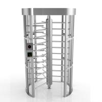 Quality 304SS Mantrap Full Height Access Control Turnstiles Door Shock-Proof Single Channel for sale