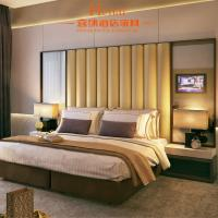 Simple Design Commercial Hotel Bedroom Furniture Sets SGS / IMO Manufactures