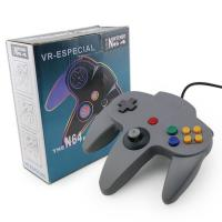 Handle Joystick N64 Game Controller ABS Material 10 Function Buttons Longlifespan Manufactures
