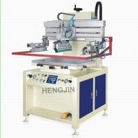 CE Approved Chinese Single Color HS-600P Precise Flat Surface Semi-automatic Screen Printer for PVC Board