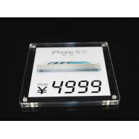 Transparent Acrylic Leaflet Display Stands / Acrylic Table Tent Holders Manufactures