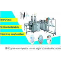 China China Factor high Quality Disposable Dust Surgical Face Mask Making Machine on sale