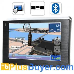 "Media Star - 4.3"" Touchscreen GPS Navigator (Multimedia player, FM Transmitter) Manufactures"