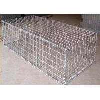 1M*1M*2M Woven Type Welded Galvanized Gabion Box 60MM*80MM Hole Manufactures