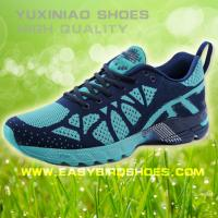 China new model brand running shoes sneakers for male, men fly fabric sport shoes running good quality on sale