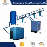 Blue Air Compressor Machine , Environmental Protection 2 Stage Air Compressor Manufactures