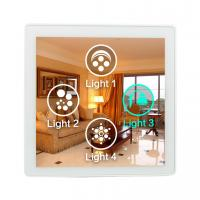 Home Security Wifi Programmable Light Switch With 4 Inch ISPQ LCD Screen Manufactures