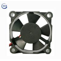 China Low Noise Equipment Cooling Fans High Speed Plastic Fan Plastic Black Color on sale