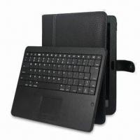 China Bluetooth Keyboard with Touchpad for Galaxy, Mac and Xoom on sale