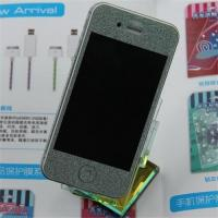 Luxury diamond shining screen protector for iphone4/iphone4s Manufactures
