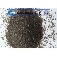 Grit Brown Sand Blast Media High Cycle Index Aluminum Oxide 9.0 Mohs Hardness Manufactures