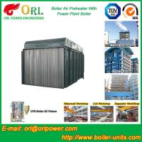 Gas Air Preheater CFB Boiler APH In Power Plant Heat Preservation Manufactures