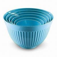 Breakfast Bowl Set, Made of Melamine, Customized Colors, Designs, and Sizes are Accepted Manufactures