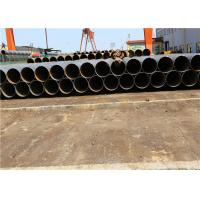 Large Diameter Spiral Welded Steel Pipes For Dredging Project / Oil Gas Water Transport Spiral Steel Pipe Manufactures