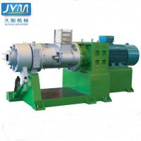 Double Screw Silicone Strainer Extruder For Industrial 250mm Screw Diameter Manufactures
