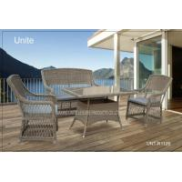 Quality Outdoor Rattan Chairs With Table Set , Garden Table And Chairs For Conservatory for sale