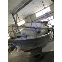China 6.5m Steering Console Aluminum Boat For Fishing / Water Sport , CE Approved on sale