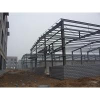 H-section Industrial Steel Building Fabrication For Steel Column / Beam Manufactures