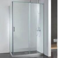 Aluminium Shower room,double rail and double sliding door,temper glass 8mm,10mm, Manufactures