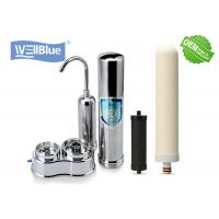 Benchtop Ceramic Drinking Water Filter For Pre Filtration Home Use Light Weight Manufactures