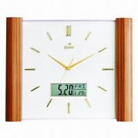 Wooden Wall Clock, Customized Logo Printing Welcomed Manufactures