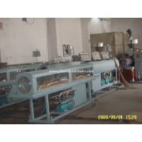 Health Drinking Water PVC Pipe Manufacturing Plant , Pipe Extrusion Machine Manufactures