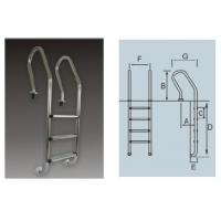 China SF Series Stainless Steel Pool Ladder on sale